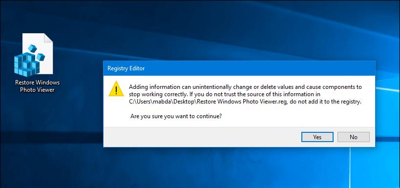 إستعادة عارض الصور Windows Photo Viewer في ويندوز 10 Photo Viewer Stop Working Photo