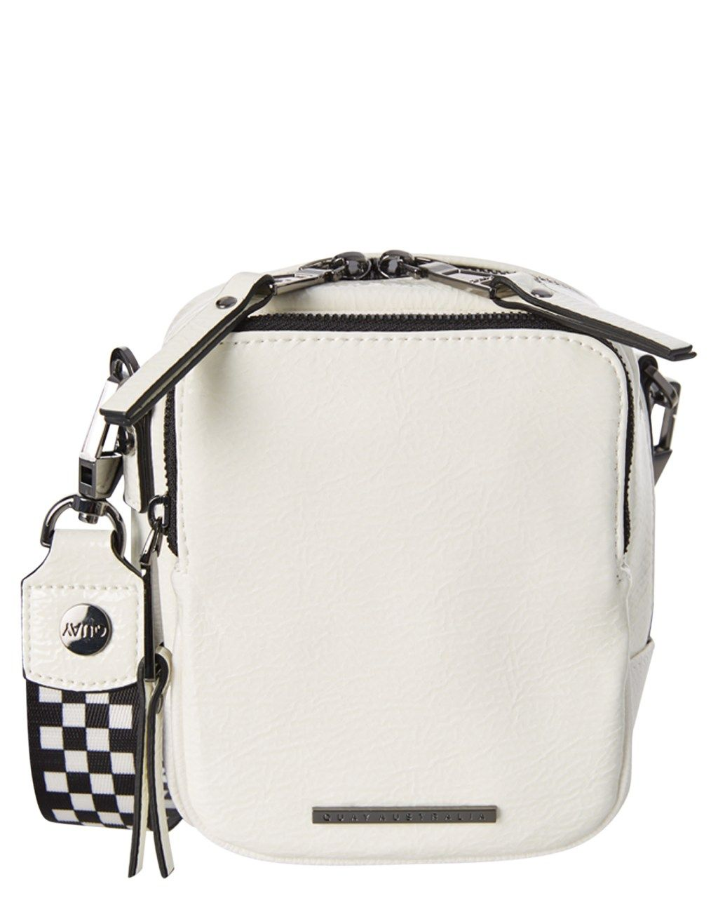 23c4abb51d Quay Eyewear Camera Bag White Gun Womens leisure bags Size   fashion ...