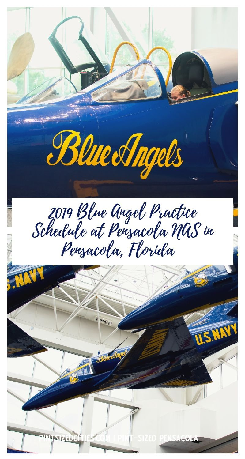Blue Angels Practice Schedule at NAS Pensacola (With