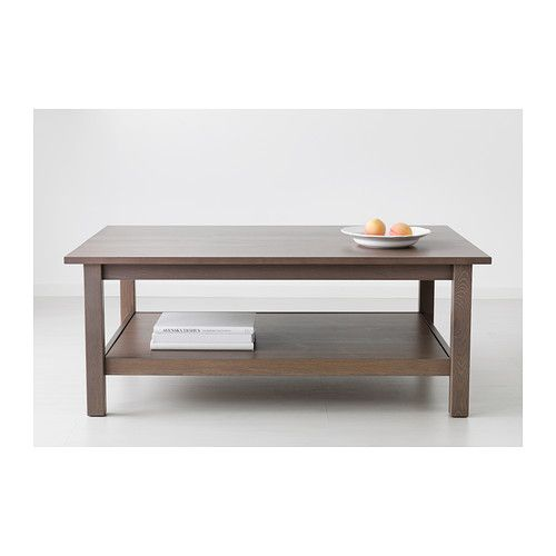 Hemnes Coffee Table Light Brown 118x75 Cm: HEMNES Coffee Table Black-brown 118x75 Cm