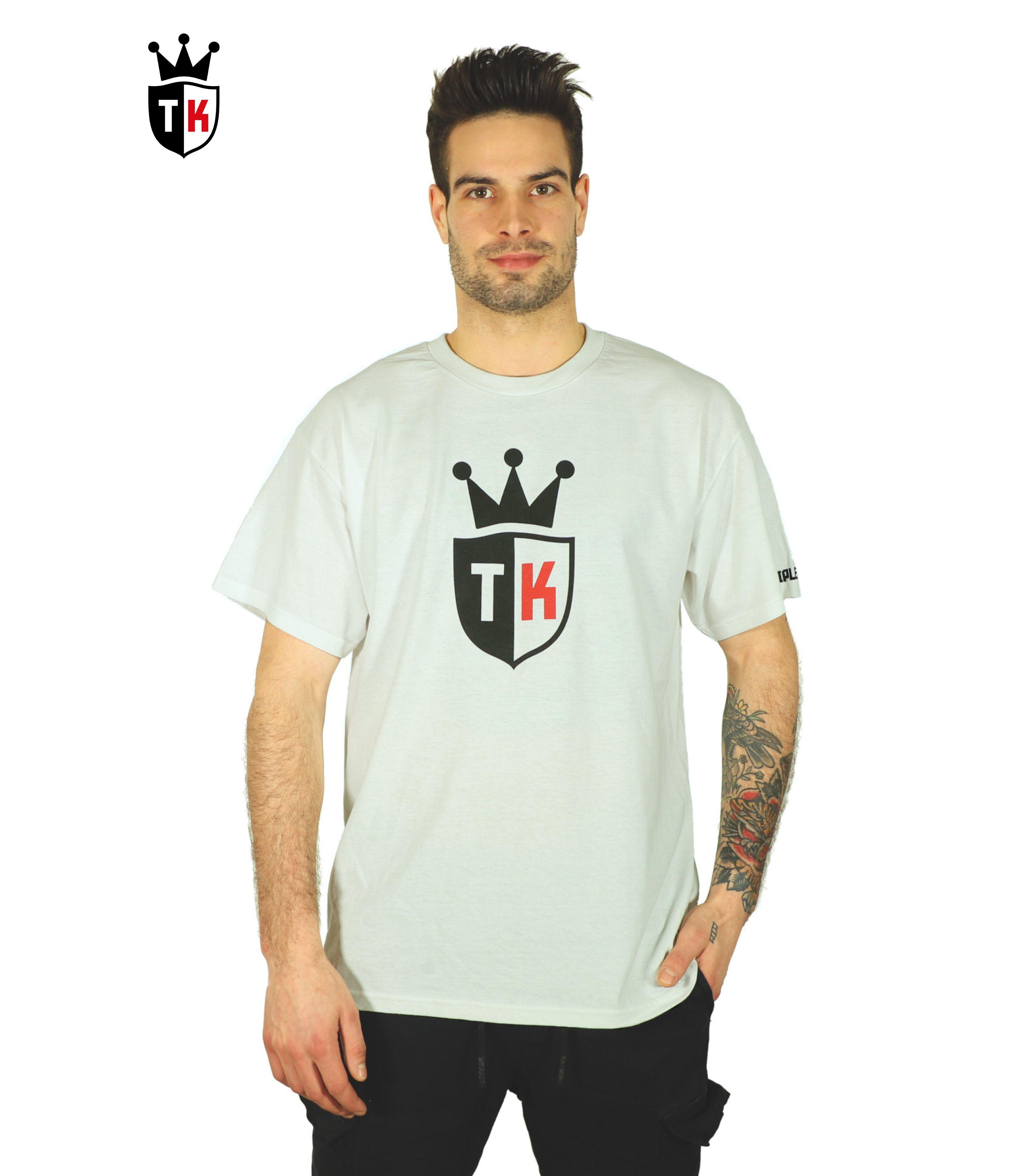 Model name Bouclier, Color White T shirt, Mens tshirts