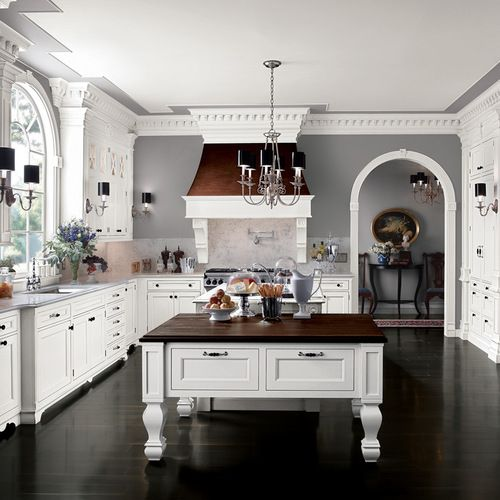 Benjamin Moore Coventry Gray Kitchen Design Ideas Amp Remodel Pictures Houzz Grey Kitchen Walls Grey Kitchen Designs Kitchen Wall Design