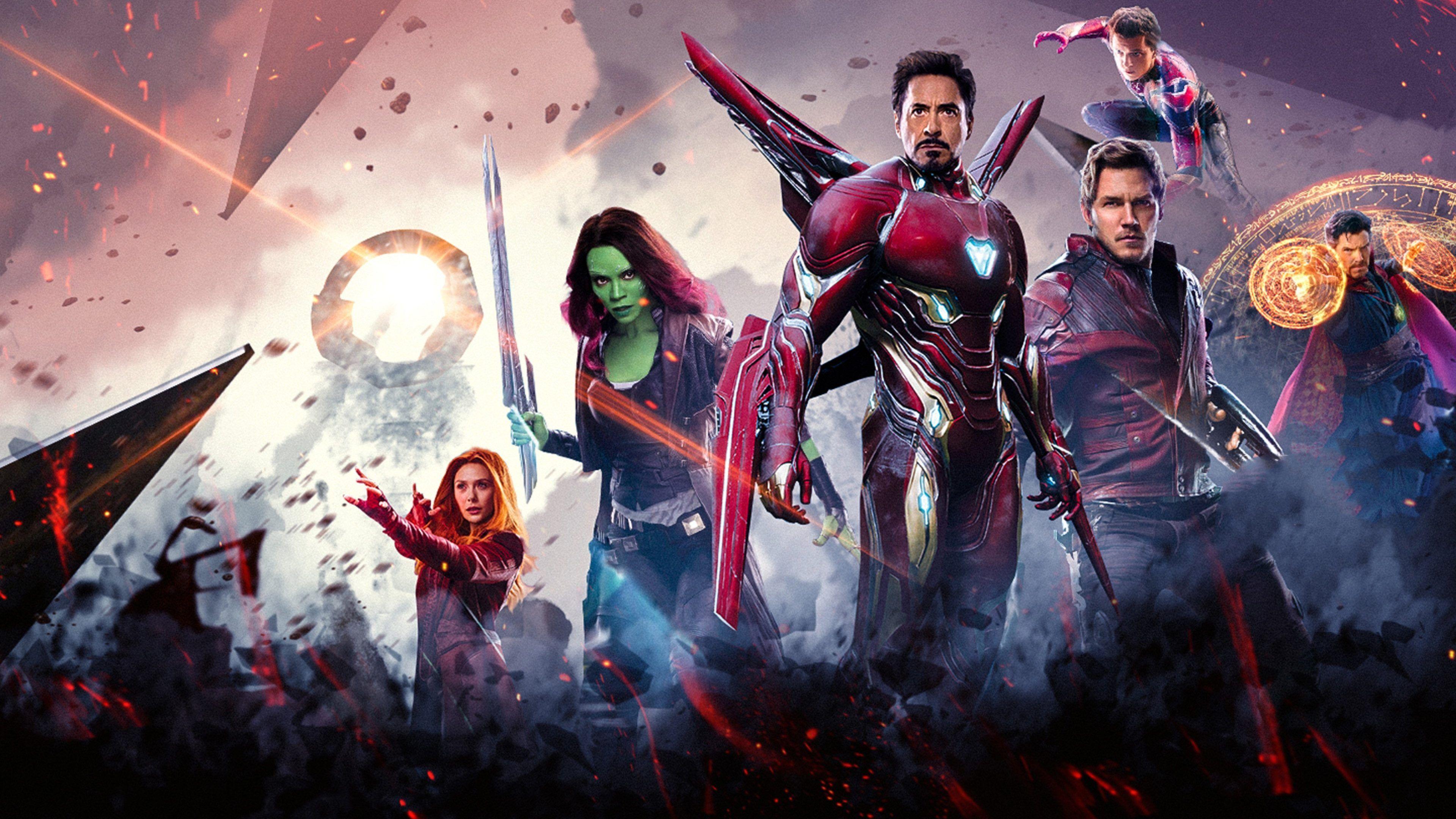 Super Heroes In Avengers Infinity War 4k Wallpaper Avengers Infinity War Avengers Pictures Avengers
