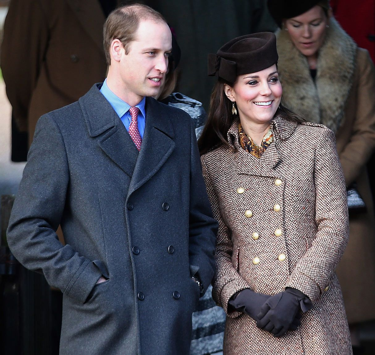 Kate Middleton Prince William Join Royal Family For Sandringham Christmas Service Where Were Prince