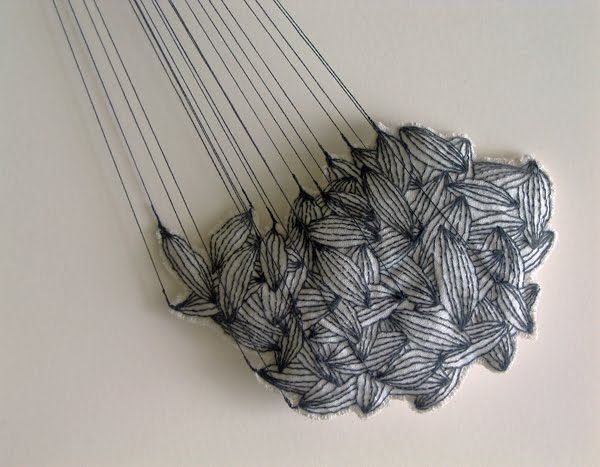 Drawing with stitch contemporary embroidery textiles