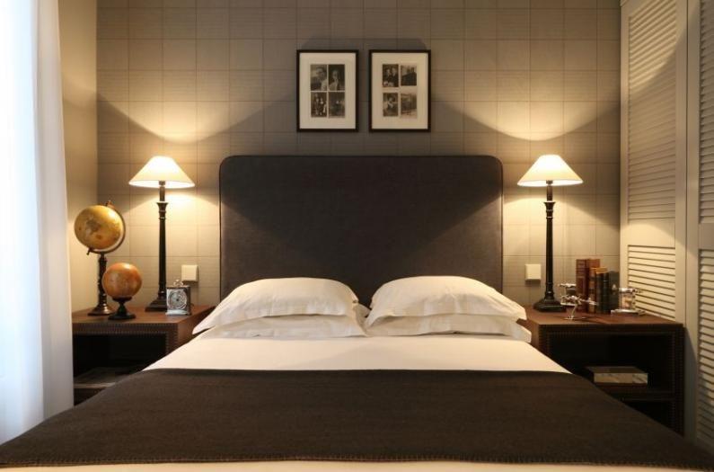 Flamant Schrank Im Schlafzimmer Decor Hotel Chambre Mode Maison Style