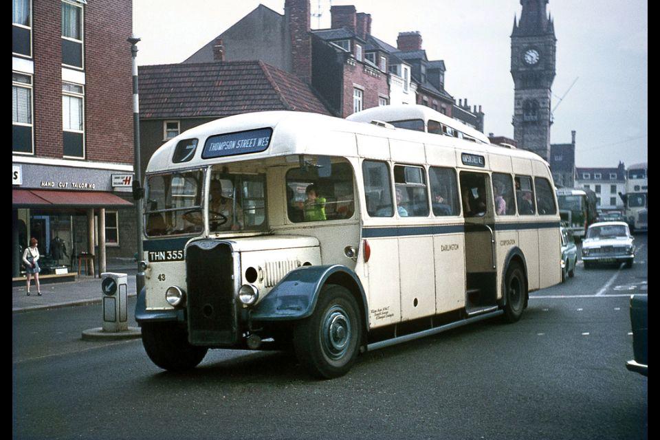 Darlington corporation bus public transport bus station