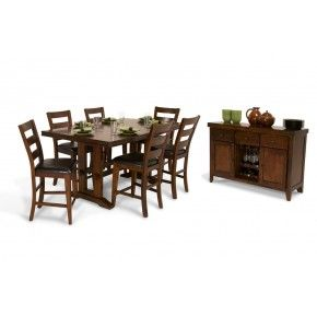 Enormous Pub 8 Piece Dining Set  Dining And House New 8 Piece Dining Room Set Decorating Inspiration