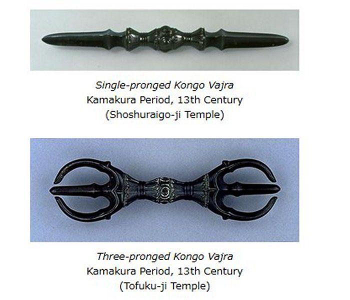 Vajra mysterious weapon