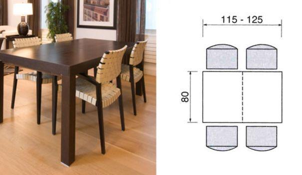 Cuisine Ou Salle A Manger Quel Espace Prevoir Pour Une Table Salle A Manger Petit Espace Salle A Manger Table Ronde Coin Salle A Manger