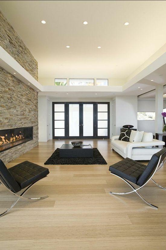 Modernes Wohnzimmer Gestalten Leicht Gemacht. Deko Kamin Im Wohnbereich