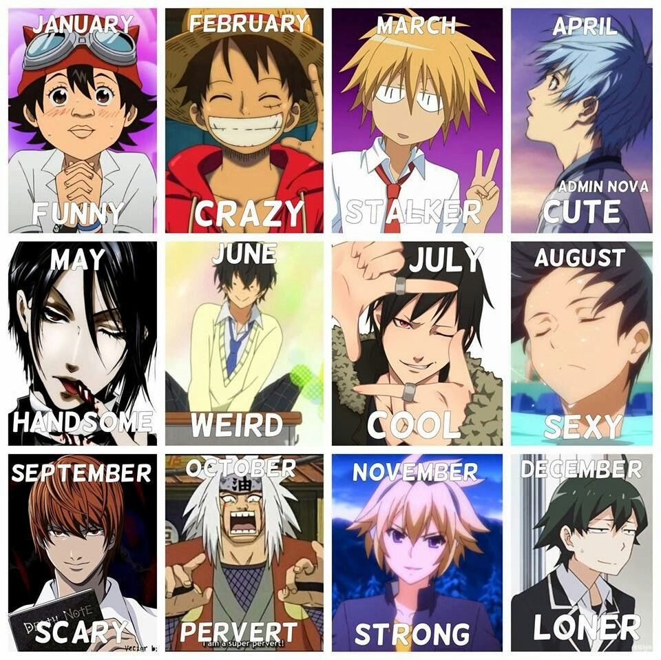 Horoscopes (With images) Anime zodiac, Anime, Anime