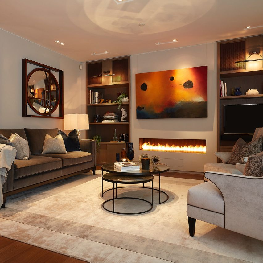 Get Home Design Ideas: An Area Rug Can Give You Design Flexibility In The Living