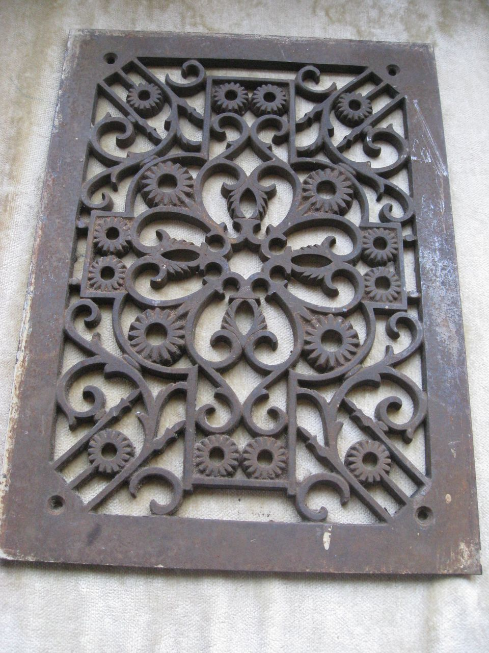 Architectural Antique Grate Object De Art Home Decor Renovations Architectural Antiques Cast Iron Decor Iron Decor