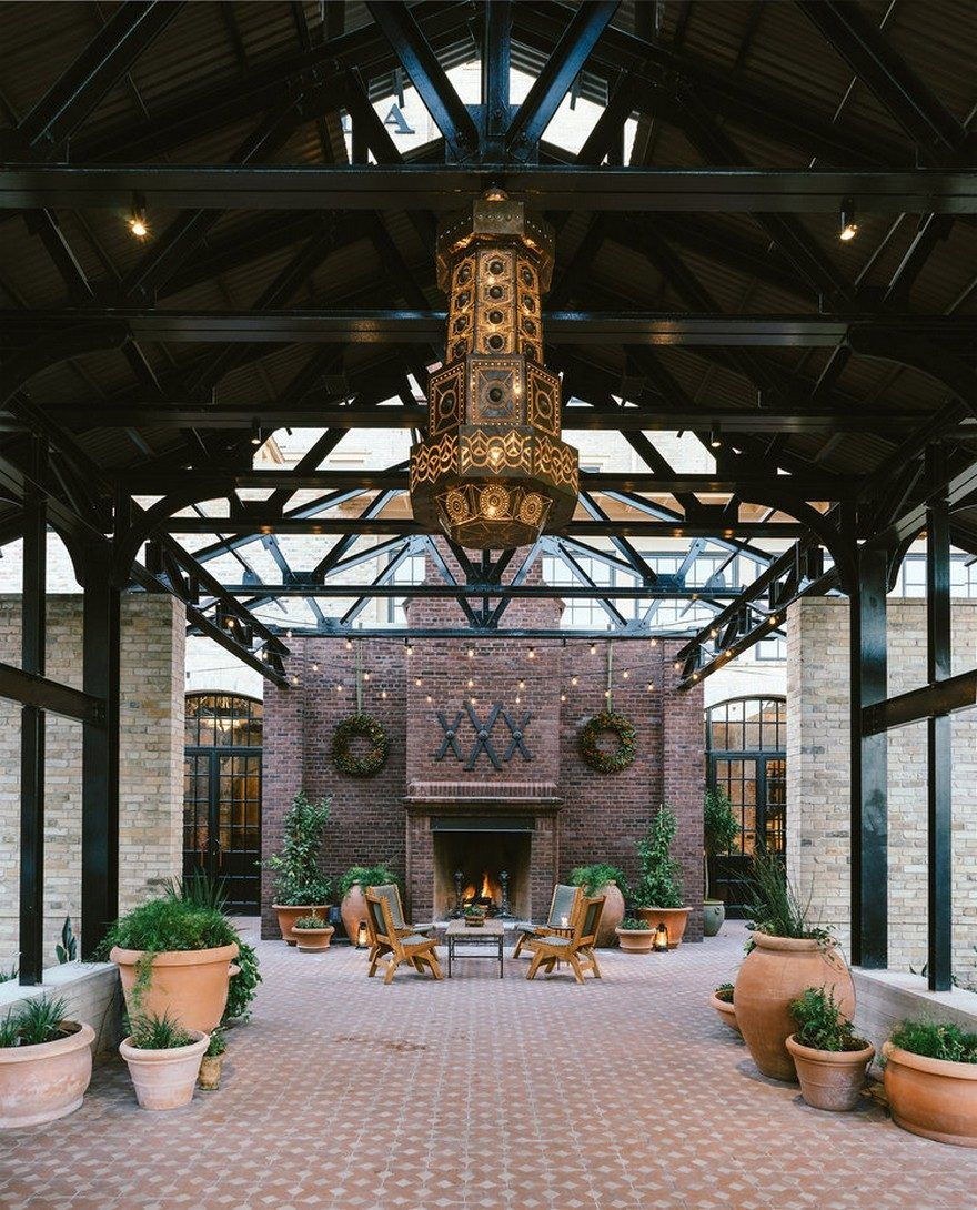 Hotel Emma In San Antonio By Roman And Williams Buildings And Interiors With Images Hotel Emma Roman And Williams San Antonio Hotels