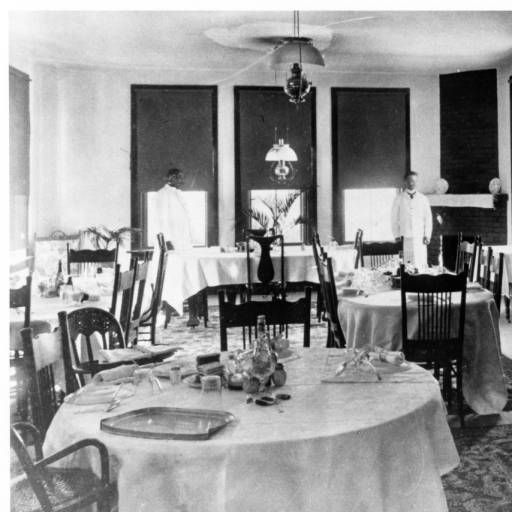 Dining Room Tables San Diego: Dining Room At Miramar Ranch, Ca. Early 1890s :: E.W