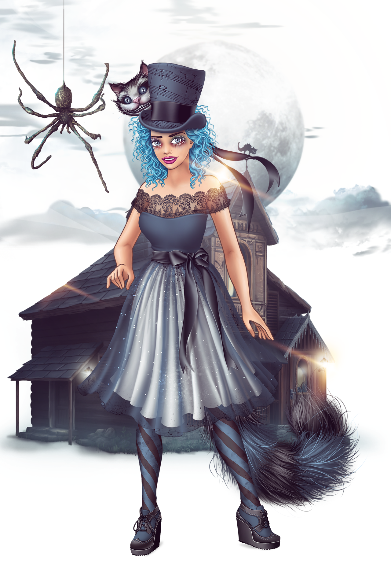 Event Spooky Halloween ladypopular