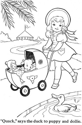 Coloring Book Blue Ribbon Coloring Books Vintage Coloring Books Coloring Pages