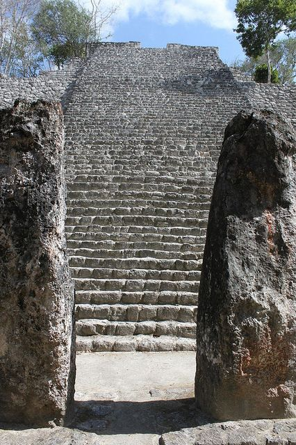 Calakmul Structure Maya Heritage Site And Baja California - 7 ancient ruins of central america
