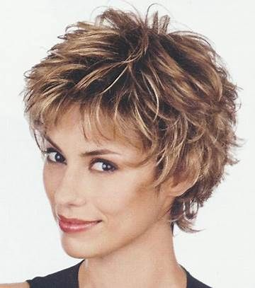 Best Hairstyle For Thick Hair Oval Face   Short choppy ...