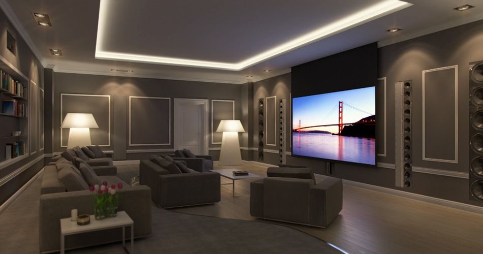 Thuisbioscoop Plafond Home Cinema | Classical Contemporary - Bioscoop En Thuis