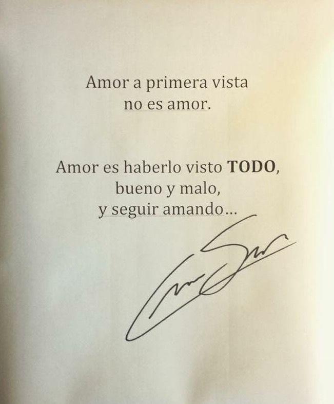 Asi Es El Verdadero Amor Reflexiones Y Frases Pinterest Amor