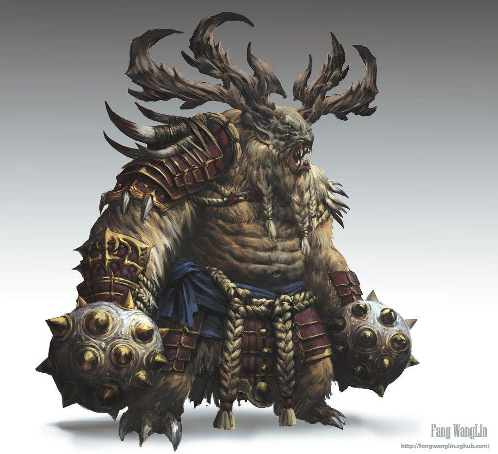 Monster soldiers by FangWangLlin.deviantart.com on @deviantART