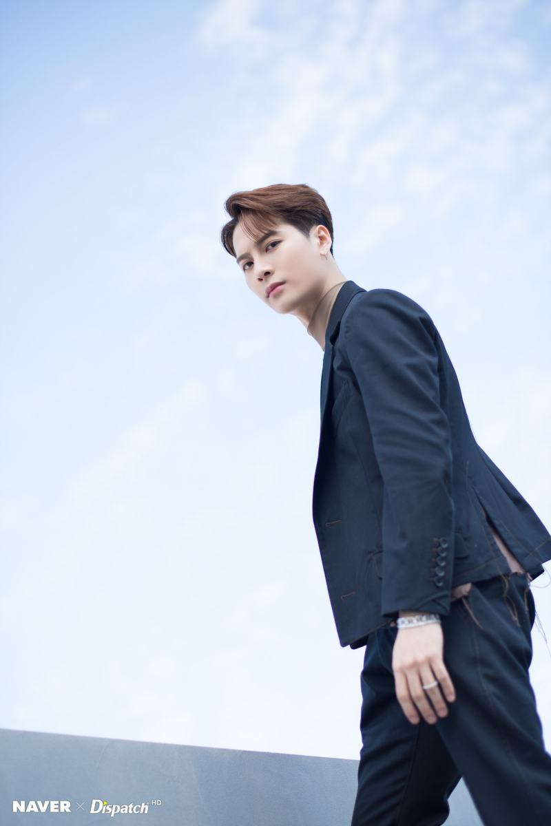 Got7 Jackson Call My Name Jacket Shoot By Naver X Dispatch Got7 Jackson Jackson Jackson Wang