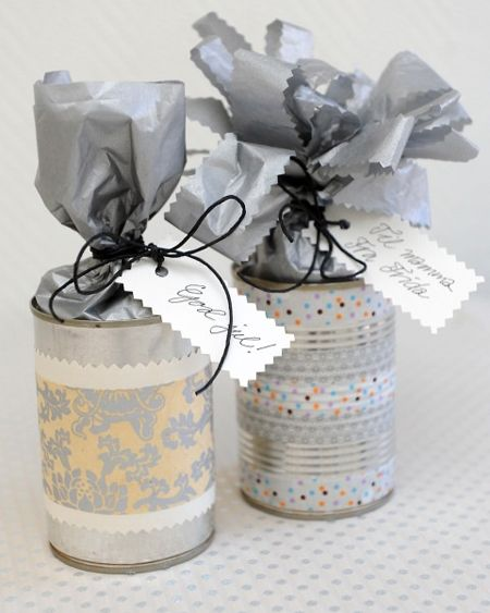 5 ideas para decorar una lata con washi tape pintura o papel reciclar pinterest cinta - Decorar con washi tape ...