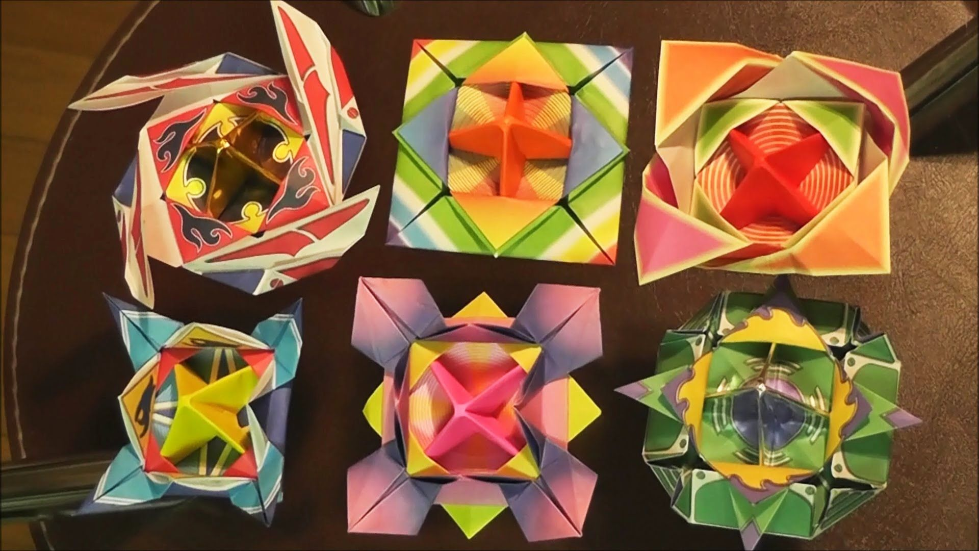 Japanese origami spinning top origami japanese origami spinning top jeuxipadfo Images
