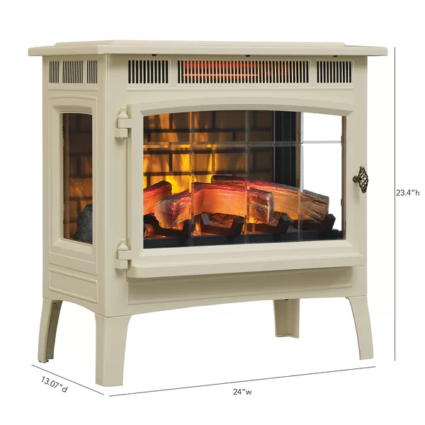 3d Flame Effect Infrared Quartz Electric Stove In 2021 Fireplace Heater Electric Fireplace Heater Electric Fireplace