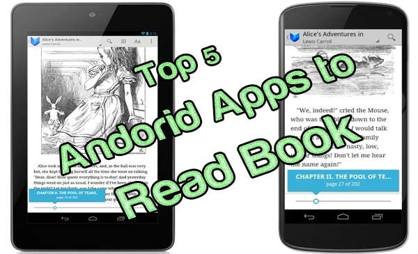 Best ebook reader Android   Top 5 Free Apps for ePub and PDF