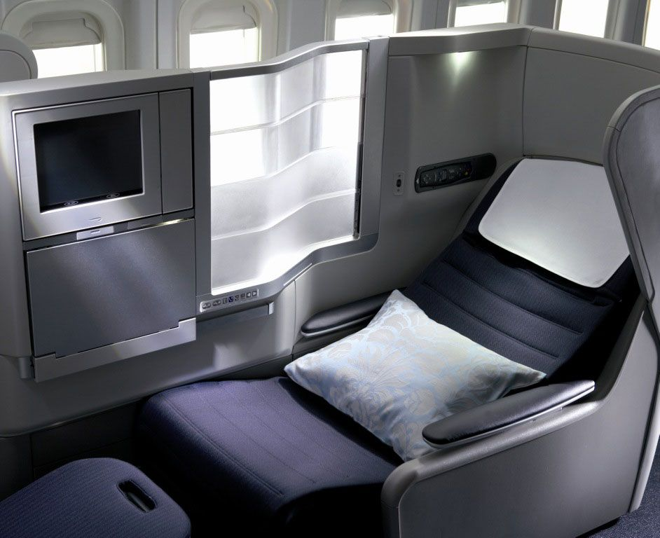 Club World (a.k.a. Business Class) on British Airways. There\'s ...