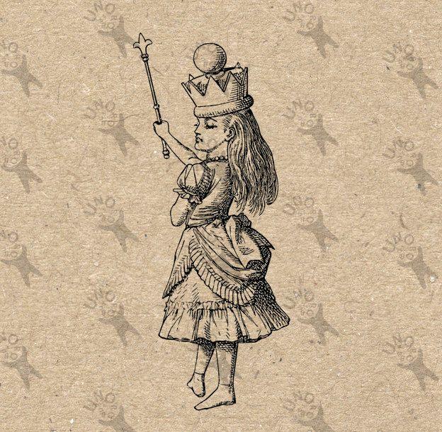 алиса в стране чудес викторианская эпоха открытки прочно