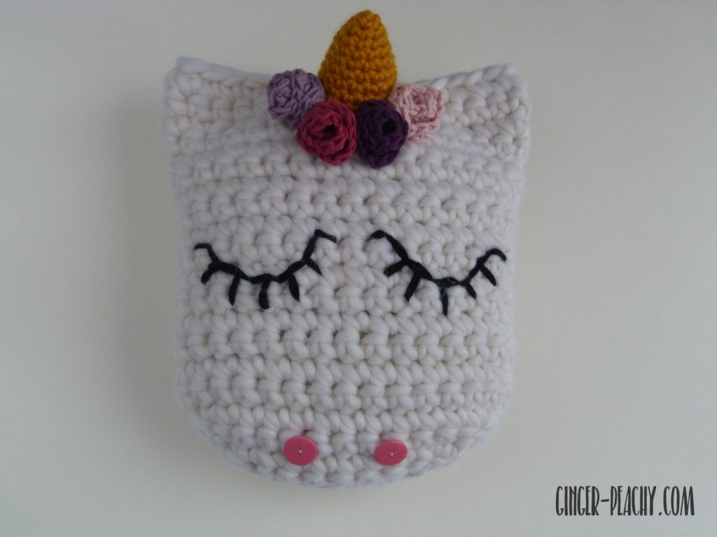 Udora unicorn pillow virkat pinterest unicorn pillow free