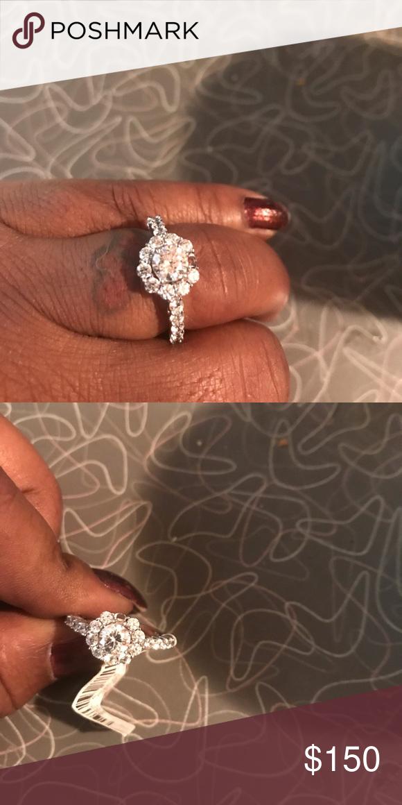 Simulated Diamond Ring Simulated Diamond Rings Diamond Ring Rings