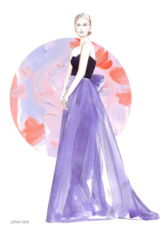 Lena Ker | fashion illustration
