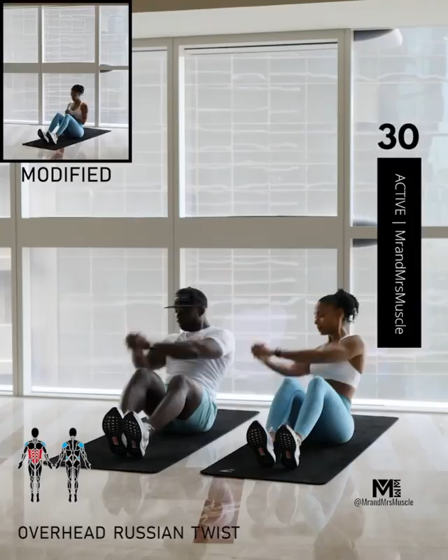 Hiit abs workout at home videos #fitnessmotivation #fitnessroutine #mrandmrsmuscle #workout