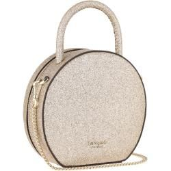 Kate Spade New York Andi Glitter Mini Chain Canteen Bag Pale Gold in gold Umhängetasche für Damen Ka