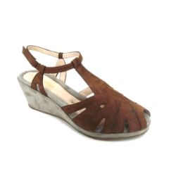 BeautiFeel Candy Wedge - Brown #sale #shoes