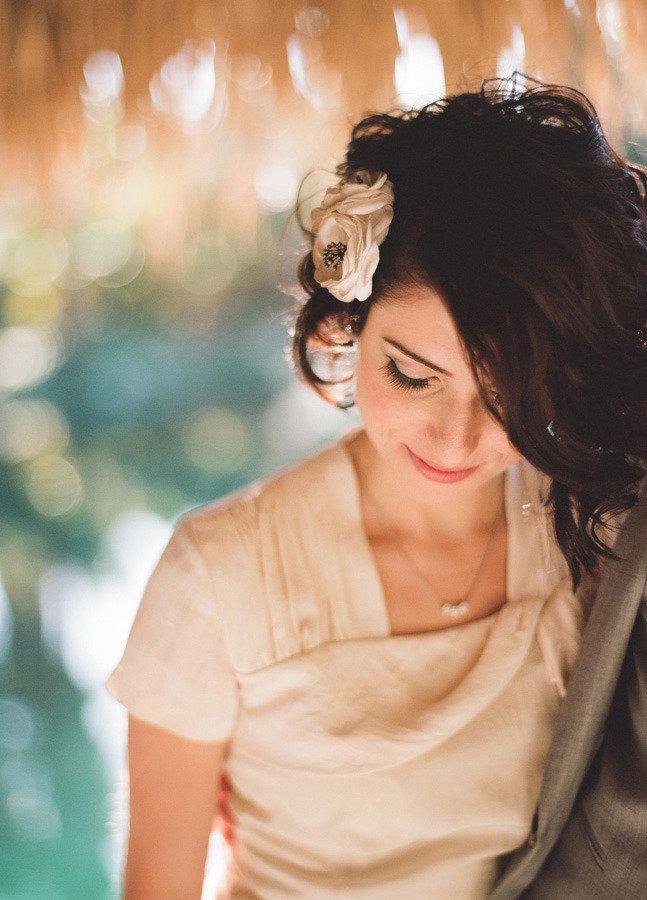 #hair-accessories  Photography: Raya Carlisle Photography - rayaphotography.com Floral Design: Artisan Events - artisanevents.com