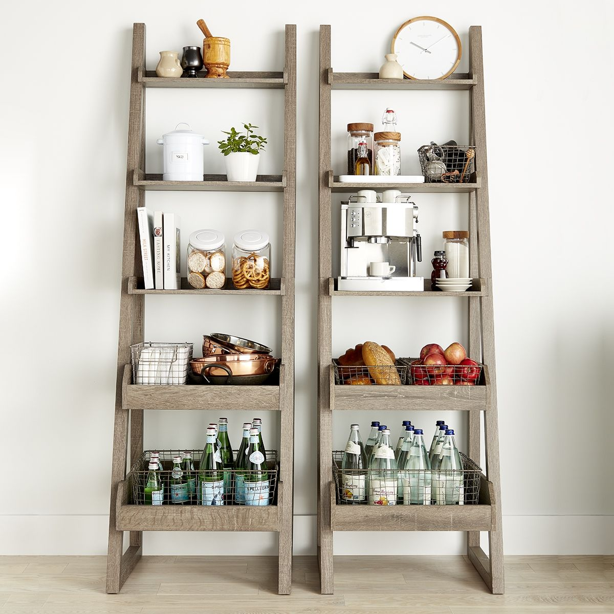 Make Use Of Vertical Space Bookshelves And Free Standing Shelving