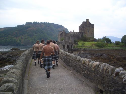 Kilts and castles....