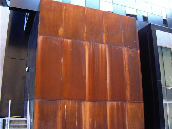 bardage acier corten recherche google inspirations fa ade pinterest acier corten corten. Black Bedroom Furniture Sets. Home Design Ideas