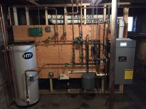 Burnham Alpine High Efficiency Gas Heat Installation In Lynnfield