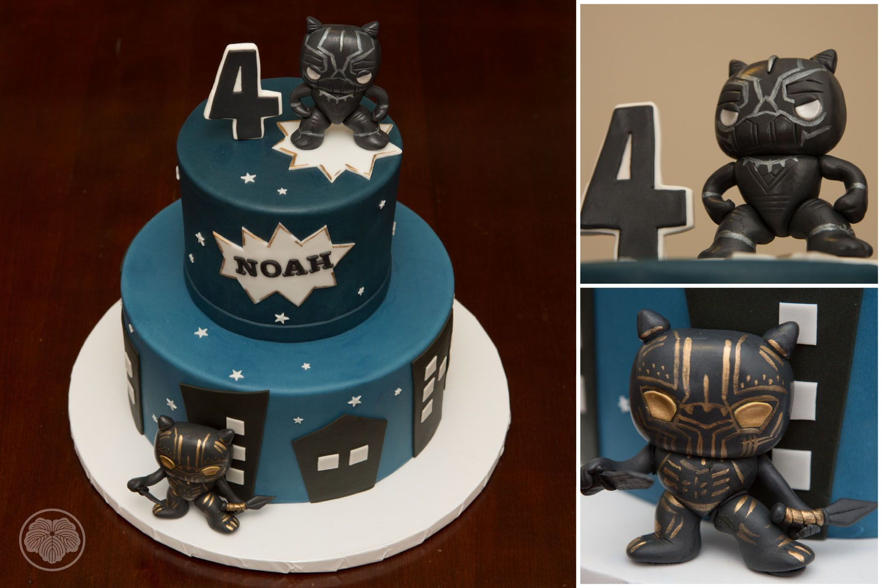 Black Panther Cake With Images Kids Cake Custom Cakes Cake