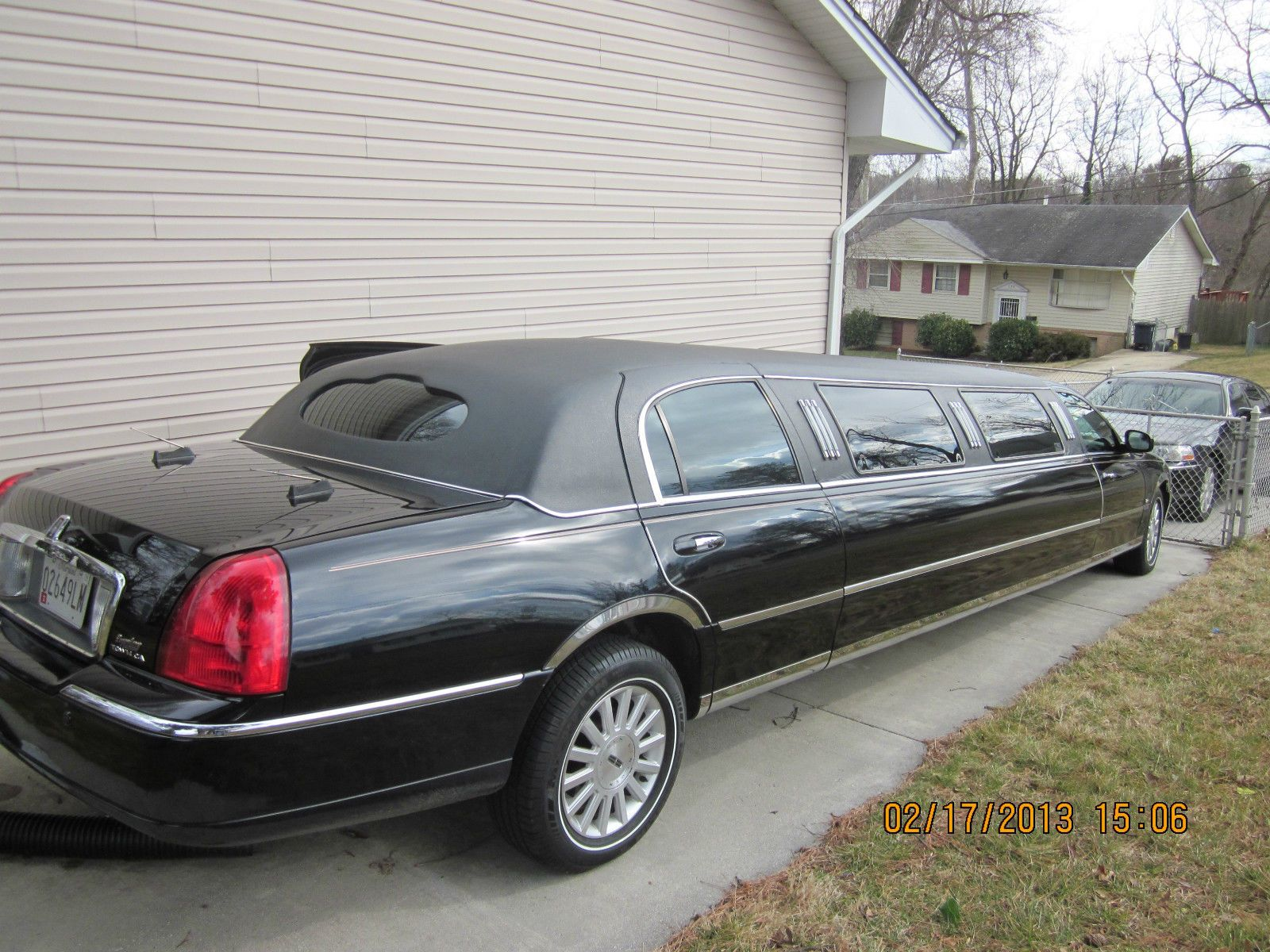Lincoln Town Car Executive Limousine 4 Door Limos Pinterest
