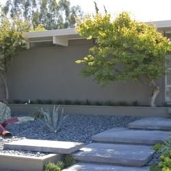 Landscaping Eichler Homes Landscape Mid Century Modern Homes