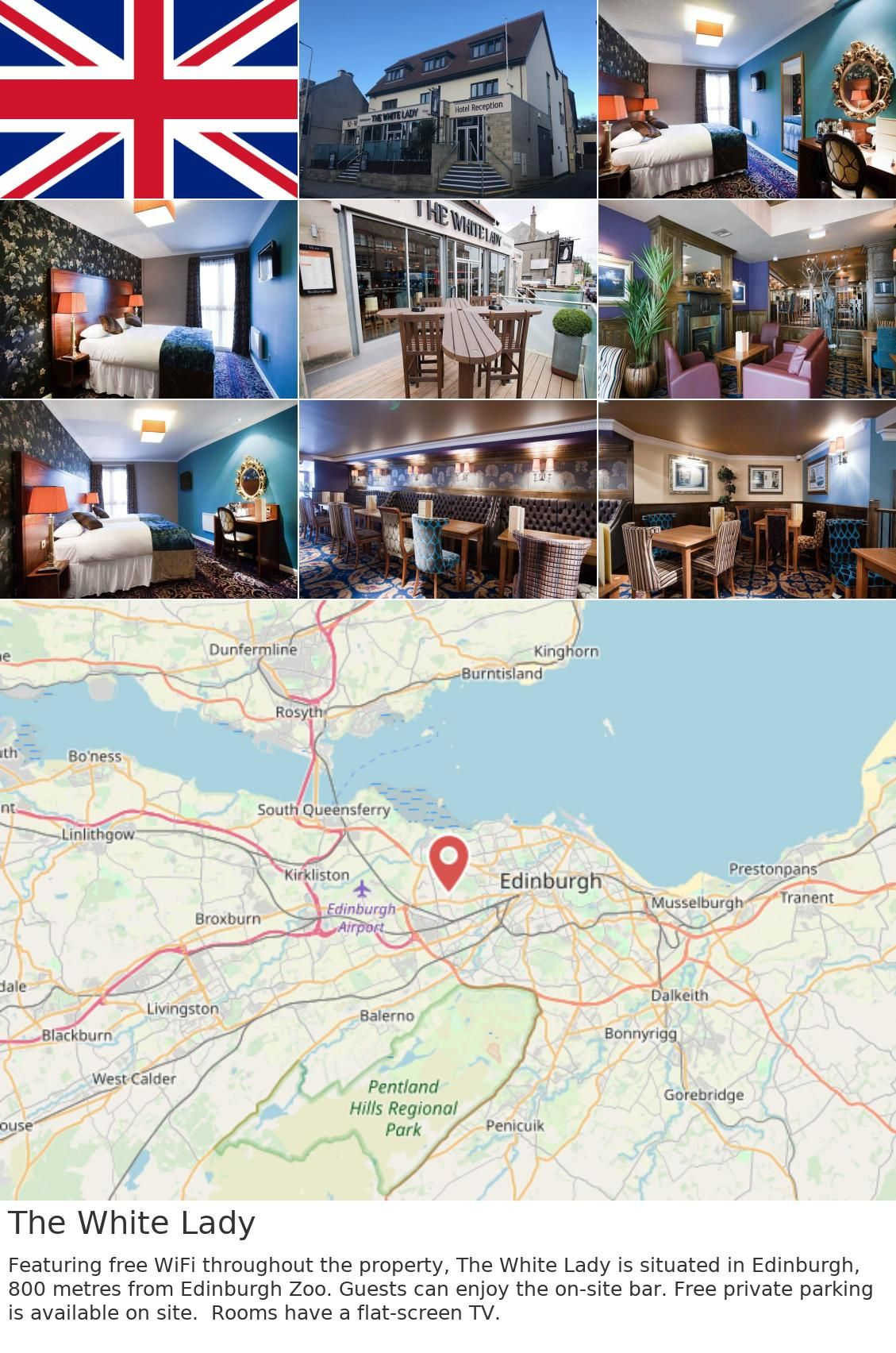 Britain Uk Edinburgh The White Lady Featuring Free Wifi Throughout The Property The White Lady Is Situated In Edinburgh 800 Metres From Edinburgh Zoo Gue