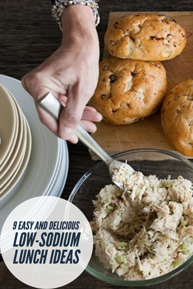 9 Easy and Delicious Low-Sodium Lunch Ideas images